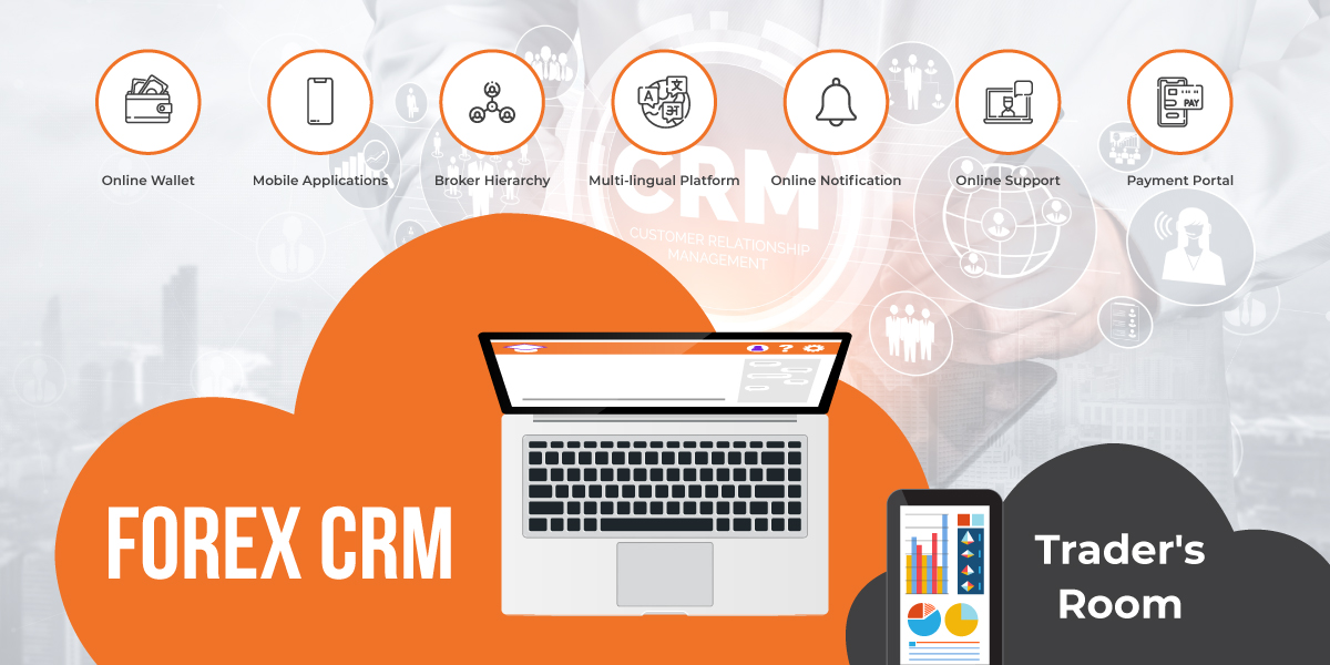 What is the Traders' Room and its importance in FOREX CRM?